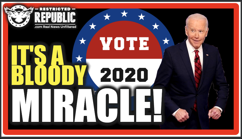 "It's a Bloody Miracle! 6 Ways Joe Biden ""Mysteriously"" Outperforms Election Norms & No One Questions It"
