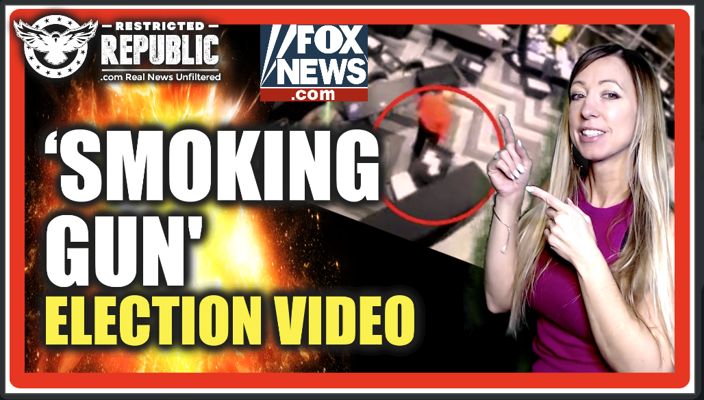 'Smoking Gun' Election Surveillance Video So Devastating Fox & CBS Were Forced To Admit It…