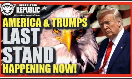 Trump & Americas Last Stand Happening Now! Nuclear Option Deployed As States Run To The Battlefield
