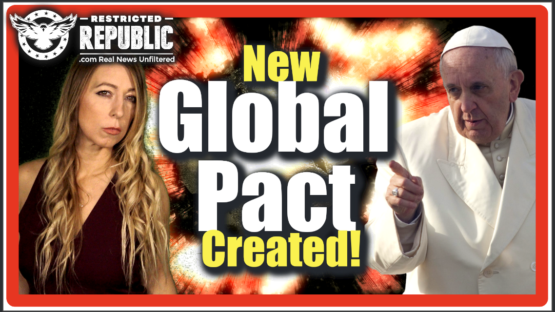 New Global Pact Created: The Pope, Rothschild, Rockefeller & Big Bankers—Their Agreement... Chilling!
