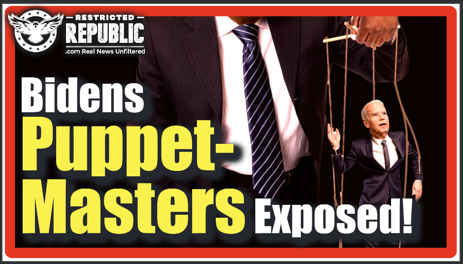 Biden's Puppet-Masters! The 'Secretive Small Group' Of Individuals Responsible For His Every Move!