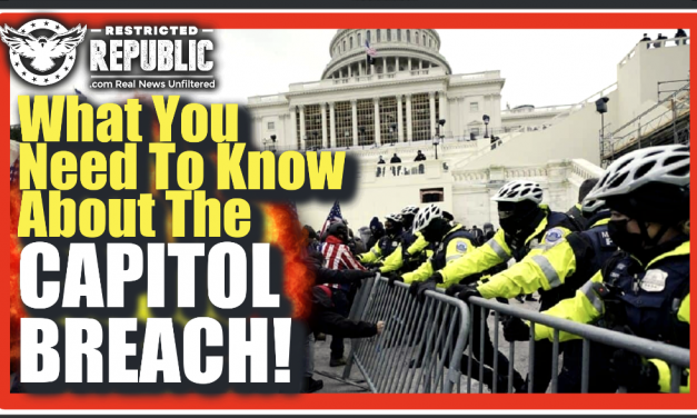 The Crap Just Hit The Fan! Here's What You Desperately Need To Know About The Capitol Breach