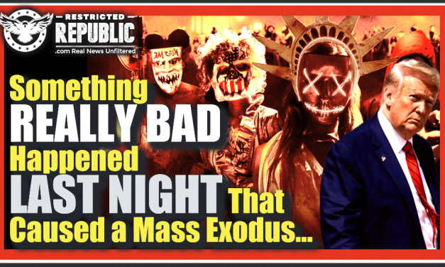 Something Really Bad Happened Last Night That Caused A Mass Exodus! Here's What's Going On!