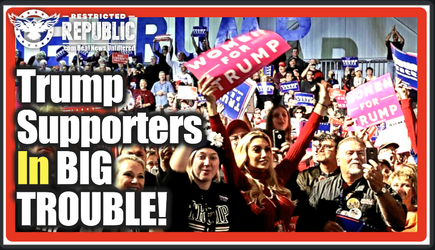 Welcome To The New America! Trump Supporters In BIG Trouble When Dems Bill Likely Passes…