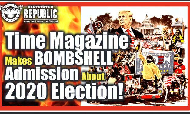 Time Magazine Just Made a Bombshell Admission About The US Election! You Wont Believe What They Admit!