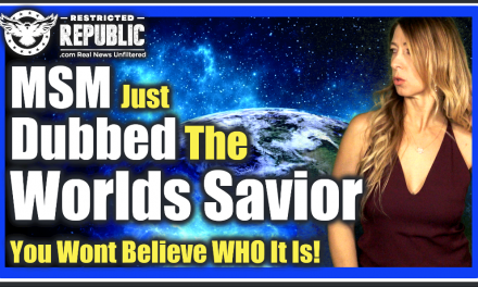 "MSM Just Dubbed The ""World's Savior"" (or Antichrist Type) You Won't Believe Who They Picked…"
