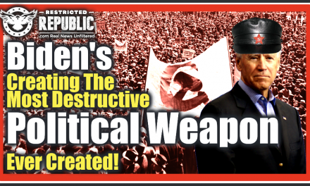 Biden's Creating The Most Devastating Political Weapon Ever Created & You Should Be Very Concerned!