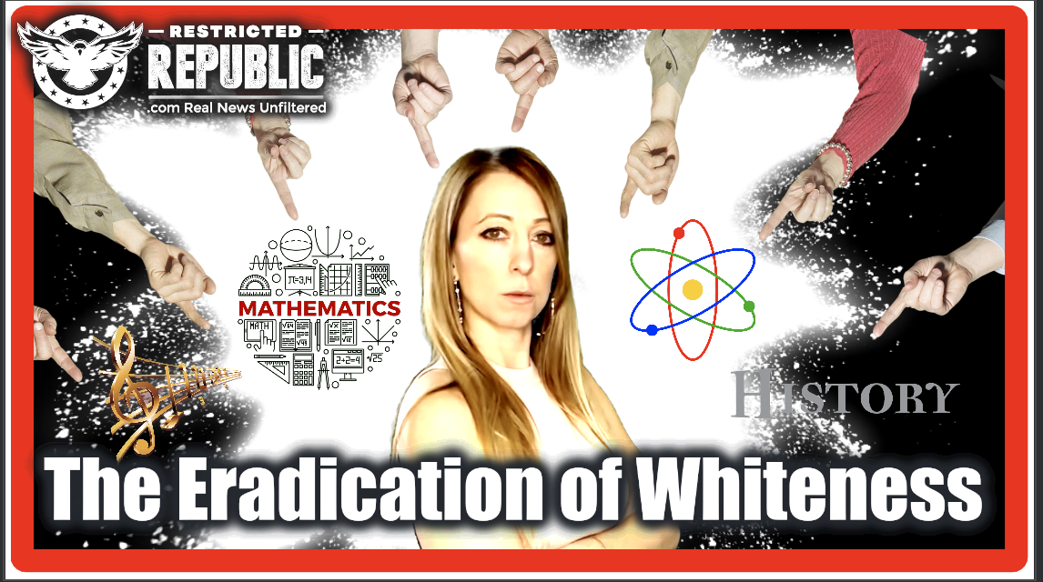 What You're About To See Can't Be Unseen! The Truth Will Set You Free! The Eradication of Whiteness…