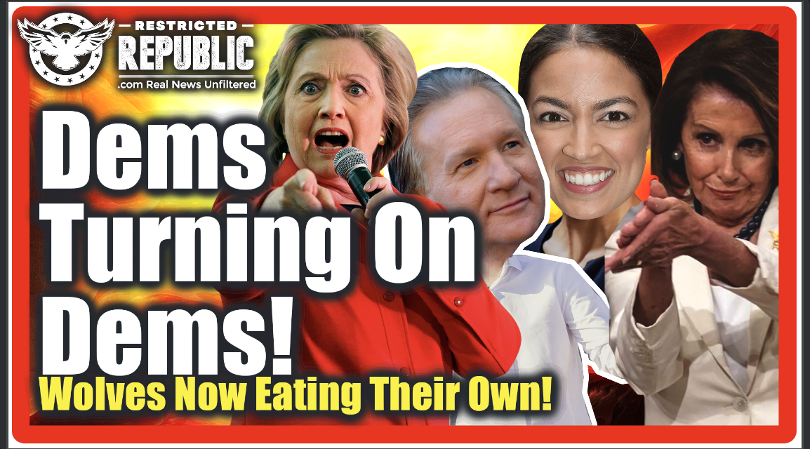 Democrats Turning On Democrats! Wolves Now Eating Their Own! Hope For America Prevails!