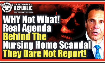 Why Not What?? The Real Agenda Behind The Nursing Home Scandals They Dare Not Report…!