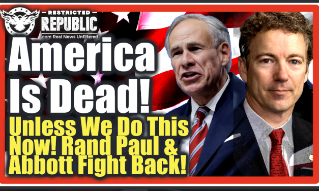 Rand Paul & Abbott Bombshell! America's Dead! Unless We Do This NOW Or Else Can Kiss It All Goodbye