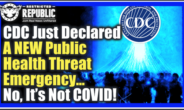CDC Just Declared a 'NEW Public Health Threat' Emergency! No It's Not COVID, It's Worse…Or Is It?