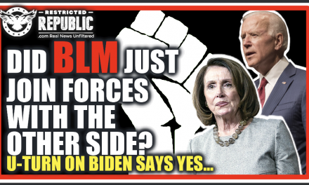 Did BLM Just Join Forces With The Other Side?! U-Tun On Biden & Pelosi Says Yes…
