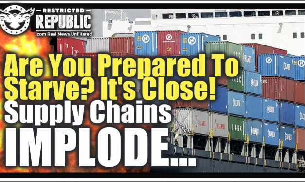"""It's About To Get Much Worse"" Supply Chains Implode! Are You Prepared To Starve? We're Really Close!"