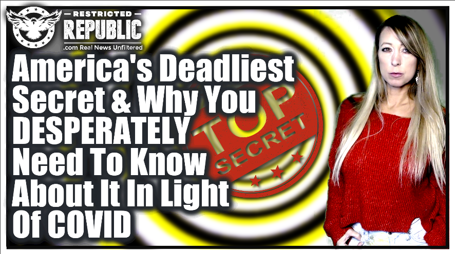 America's Deadliest Secret & Why You Desperately Need To Know About It TODAY!