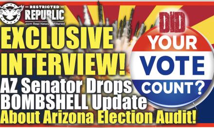 Exclusive Interview! Arizona Senator Drops Bombshells About The Arizona Election Audit…