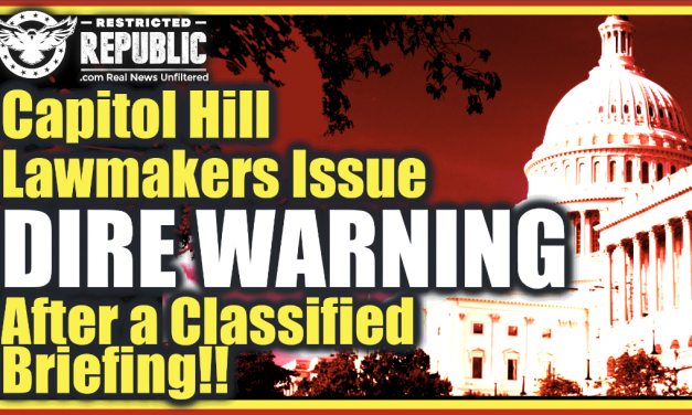 Capitol Hill Lawmakers Issue Dire Warning After a Classified Briefing!! Something Strange Happening?!