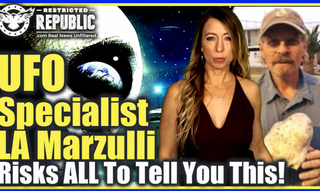 Wait Until You Hear What's Hidden In America! UFO Specialist LA Marzulli Risks All To Tell You This!