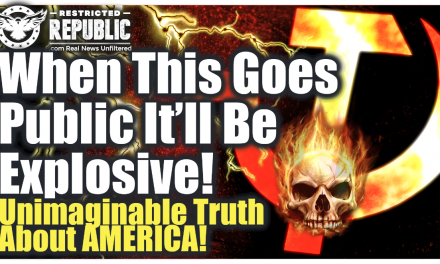 Unimaginable Truth About America Just Leaked Out…When This Goes Public It'll Be Explosive!
