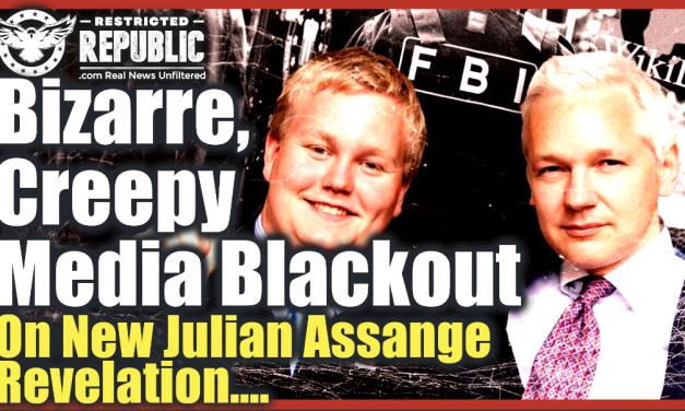 Bizarre, Creepy Media Blackout On NEW Julian Assange Revelations…