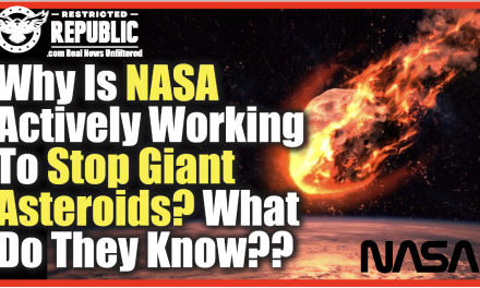 What Do They Know That We Don't? Why Is NASA Actively Doing This Right Now?