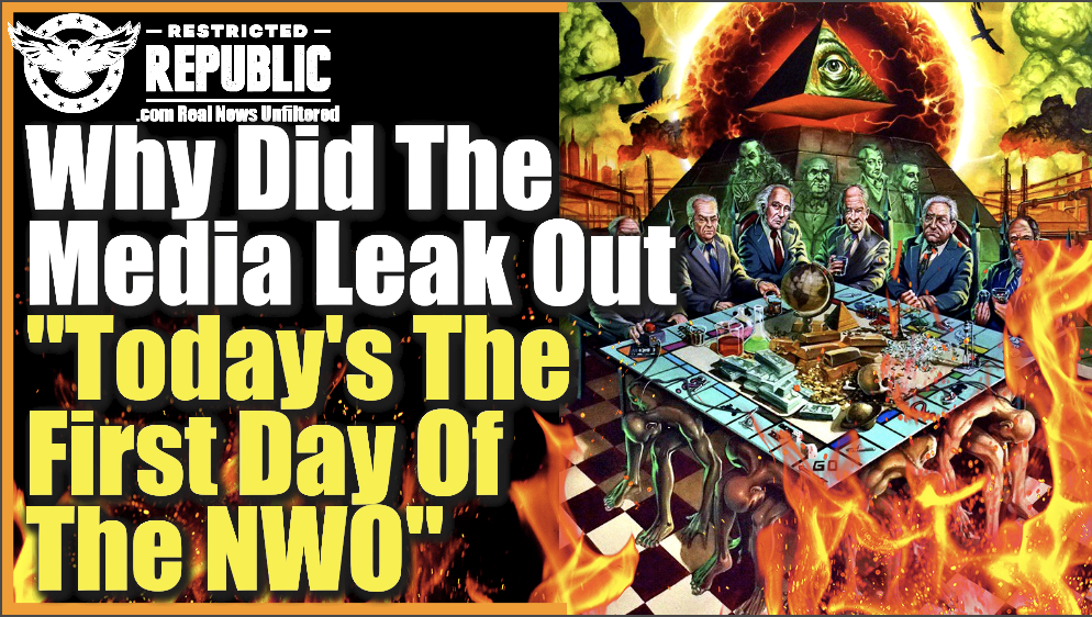 """Why Did The Media Leak Out """"Today's The 1st Day Of the NWO?"""" & Why Is Biden Monitoring Our Text Messages?"""