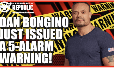 Dan Bongino Just Issued a 5-ALARM WARNING—Biden Now Compiling New List Of 'Dissidents!'