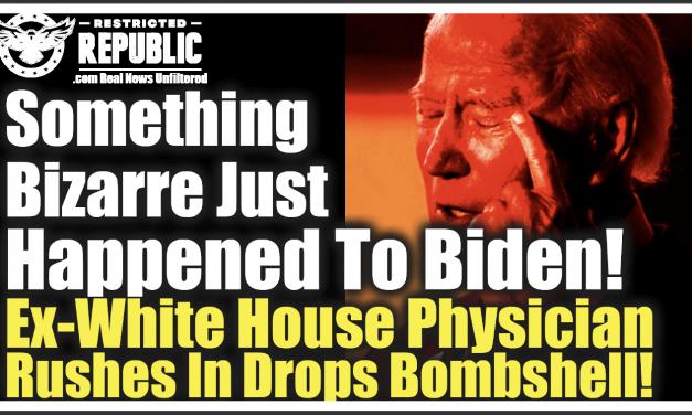 Something Bizarre Just Happened To Joe Biden! Ex-White House Physician Rushes In & Drops Bombshell!