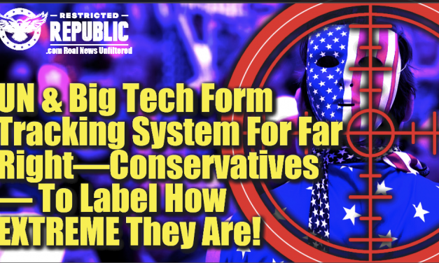 ALERT! UN & Big Tech Form Tracking System For Conservatives To Label How Extreme They Are!