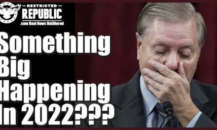 Lindsey Graham Just Made a SHOCKING Prediction For 2022…Midterm Explosion!