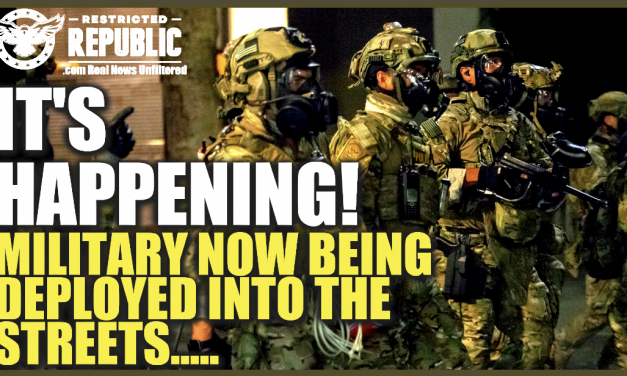 It's Happening! Military Now Being Deployed Into The Streets!!! Chaos Exploding!