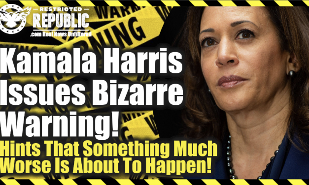 Kamala Harris Issues Bizarre Warning! Hinting That Things Are About To Get MUCH Worse Than Reported!