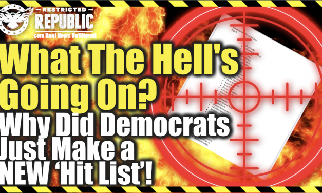 What The Hell's Going On! Why Did Democrats Just Make a NEW 'Hit List' & Label Conservatives Taliban?