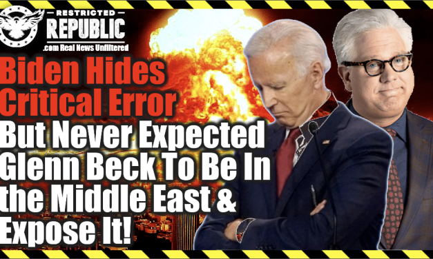 Biden Hides Critical Error But Never Expected Glenn Beck To Be In The Middle East To Expose It!