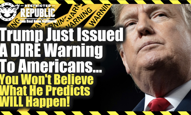 Trump Just Issued a DIRE Warning To Americans… You Wont Believe What He Predicts Will Happen!