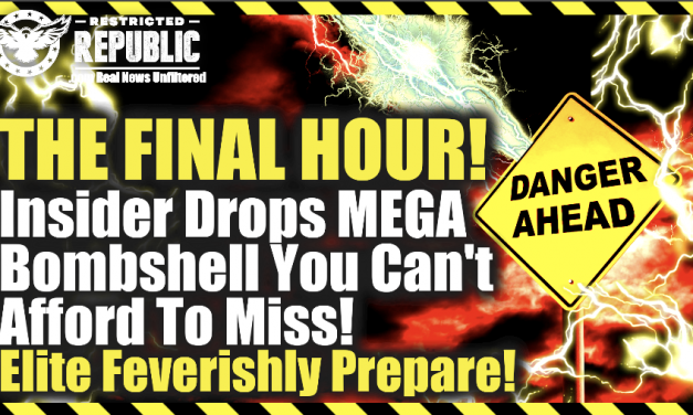 The Final Hour! Insider Drops MEGA Bombshell You Can't Afford To Miss! Elite Feverishly Prepare!
