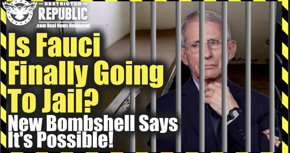 Is Fauci Finally Going To Jail? New Bombshell Says It's Possible…Straight Up Perjury!