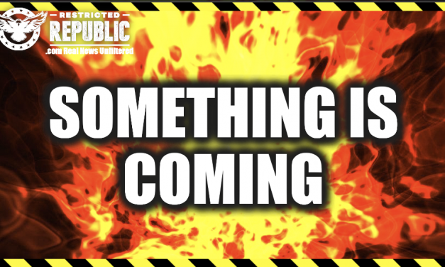 Something Is Coming…America Isn't Prepared…Everything's At Stake…