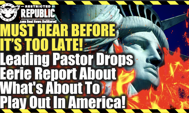 MUST HEAR BEFORE IT'S TOO LATE! Leading Pastor Drops Eerie Report About What's About To Hit America!