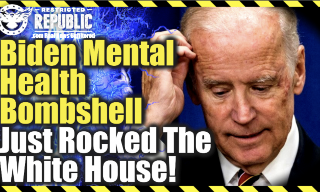 It's Finally Out! Biden Mental Health Bombshell Just Rocked The White House!