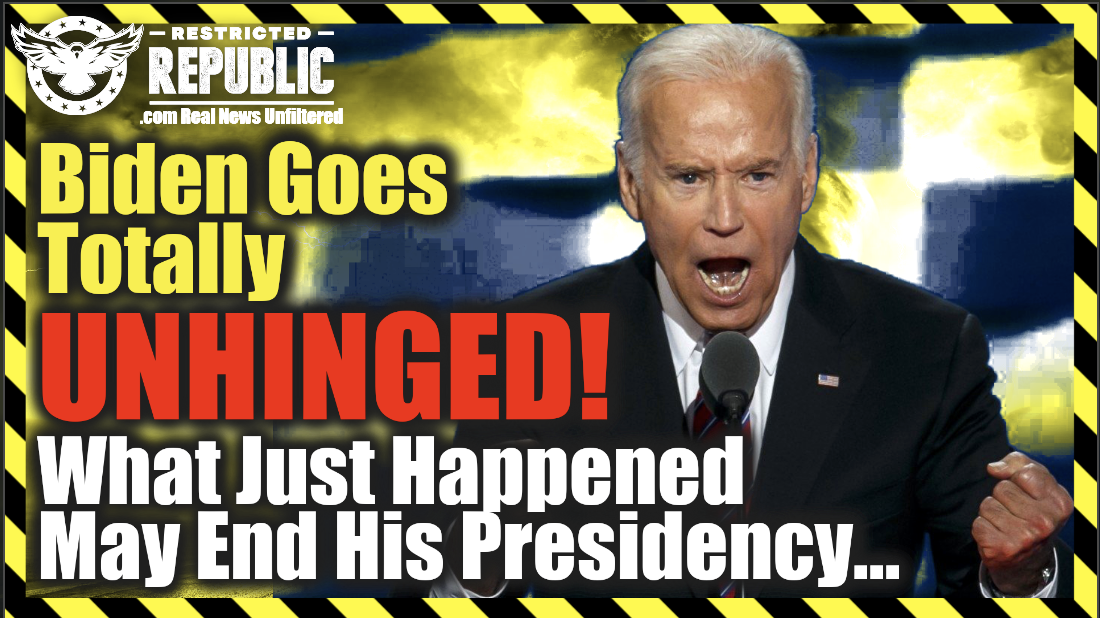 The Alarm Has Just Been Sounded On Biden—Is His Presidency Ending—If Not Why Is This Happening…