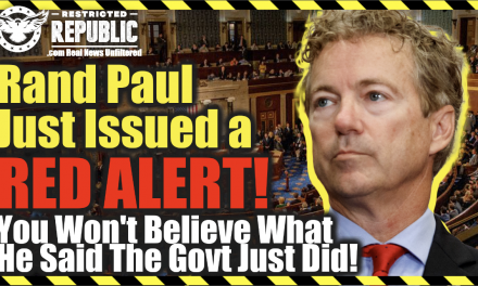 Rand Paul Just Issued a RED ALERT! You Won't Believe What He Said the Government Just Did!