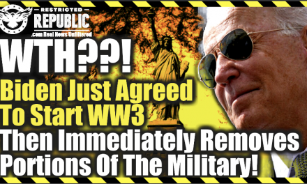 WTH! Biden Just Agreed To Start WW3 Then Immediately Removes Portions Of The Military!