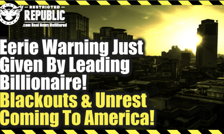 Eerie Warning Just Given By Leading Billionaire! Blackouts & Social Unrest Coming To America!